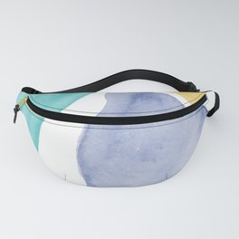 Gem Colored Stones Abstract Fanny Pack