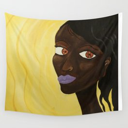 Big Eyes Wall Tapestry
