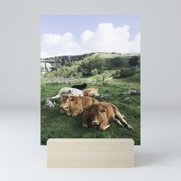 The cows Mini Art Print