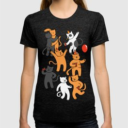 Party Cats T-shirt