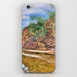 Rocks at Brachina Gorge, Flinders Ranges, Sth Australia iPhone Skin