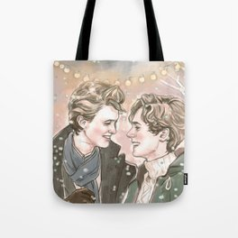 God Jul, Even and Isak Tote Bag