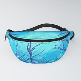 The view of the night sky. Fanny Pack