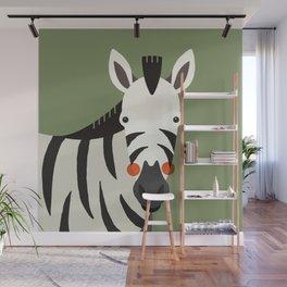 Zebra, Animal Portrait Wall Mural