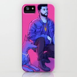 The Weeknd - Abel with Julius + Caesar iPhone Case