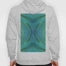 Abstract Turquoise Pattern 595 Hoody