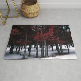 the red forest Rug