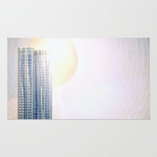 New York by Gehry Illustration Rug