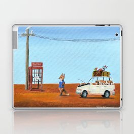 The Out of Service Phone Box Laptop & iPad Skin