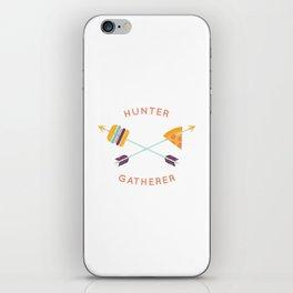 Hunter Gatherer iPhone Skin