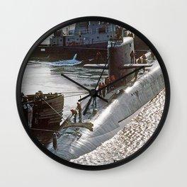 USS FRANCIS SCOTT KEY (SSBN-657) Wall Clock