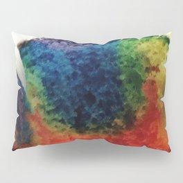 Tie Dye Cupcake Pillow Sham