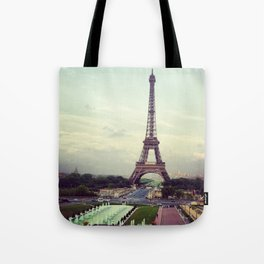 Summer in Paris Tote Bag