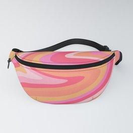 Sunshine Melt – Pink & Peach Palette Fanny Pack