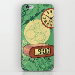 TIC TAC TIME iPhone Skin