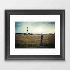 Lighthouse of Kampen II Framed Art Print