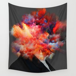 Overthinking Mind Wall Tapestry