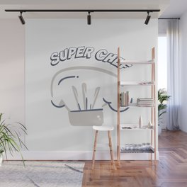 Super Chef Wall Mural