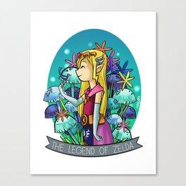 Zelda illustration Canvas Print