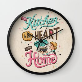 The Heart Of The Home Wall Clock