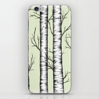 wonderland iPhone & iPod Skins featuring Wonderland by Barlena