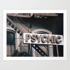 Psychic Revisited Art Print