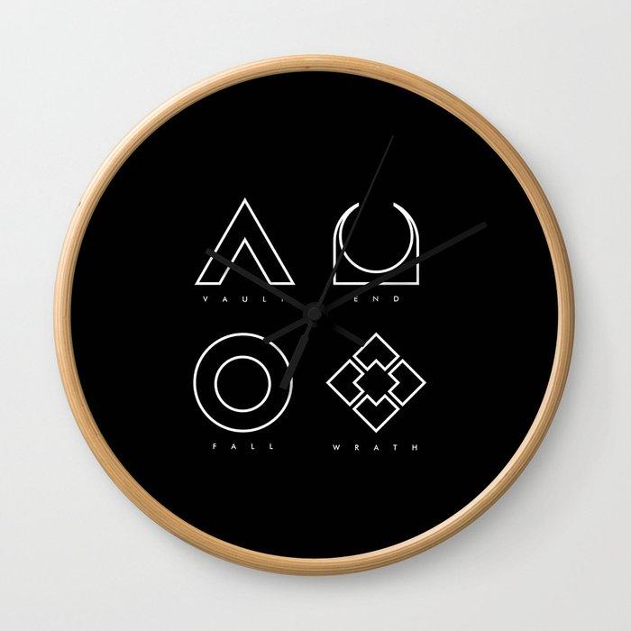 PAUSE – RAID Wall Clock