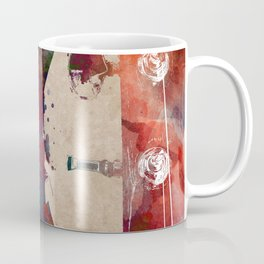 Guitar art 18 #guitar #music Coffee Mug