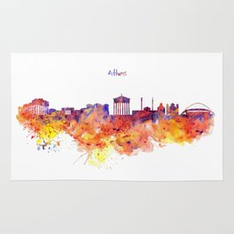 Athens Skyline Rug