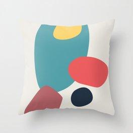 Abstract No.19 Throw Pillow