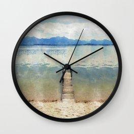 Chiemsee, Bavaria Wall Clock