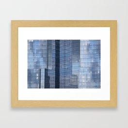 ARCH ABSTRACT 7: InterContinental Hotel, Boston Framed Art Print