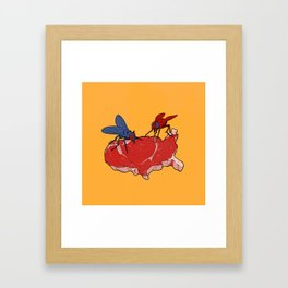 Two Party System Framed Art Print