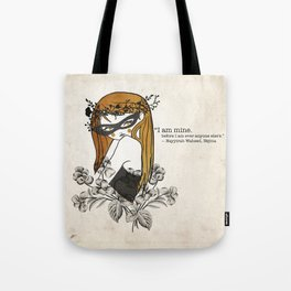 The golden girl Tote Bag
