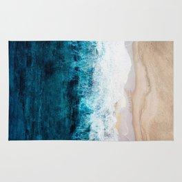 Watercolour Summer beach III Rug