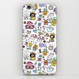 Alice in Doodleland iPhone Skin