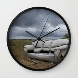 The End Times Sofa Wall Clock