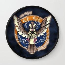 16 - Pidgey Wall Clock