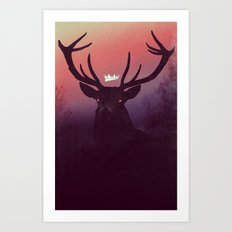 Great Prince of the Forest (version A) Art Print
