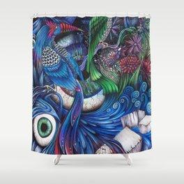 oeilnature Shower Curtain