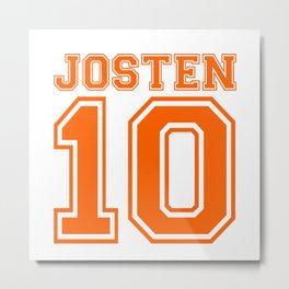 Josten 10 Metal Print