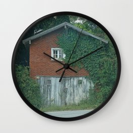 House on the Road Wall Clock