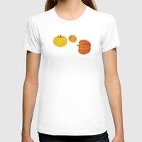 thanksgiving T-shirts featuring Pumpkins. Thanksgiving day. by rusanovska