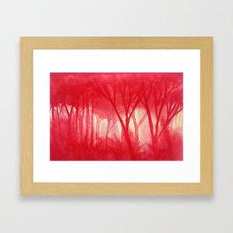 Memory Landscape 14 Framed Art Print