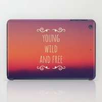wiz khalifa iPad Cases featuring Young Wild and Free by Josrick