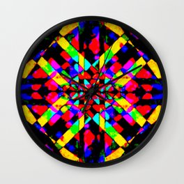 it's colorful 2 Wall Clock