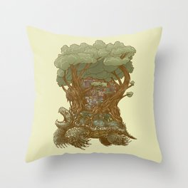 Atlas Reborn Throw Pillow