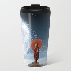 Lion Under the Moon Travel Mug