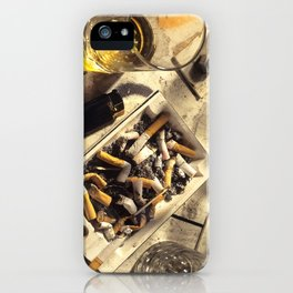 The day after a night out iPhone Case