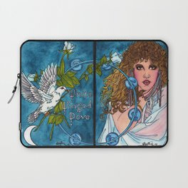 White Winged Dove Laptop Sleeve